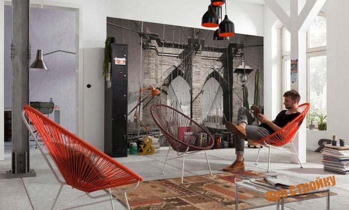 Фотообои расширяющие пространство в дизайне квартиры