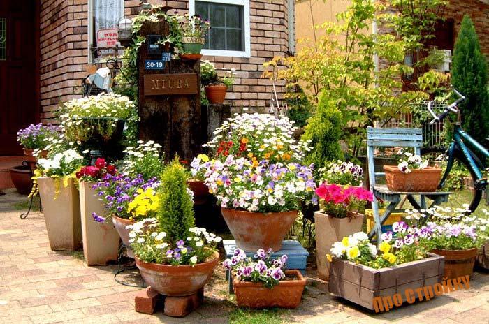 Уличные вазоны для цветов своими руками: фото-идеи и виды конструкций