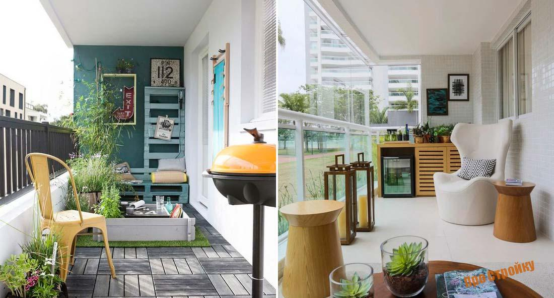 Дизайн лоджии: фото-идеи для оформления интерьера балкона.