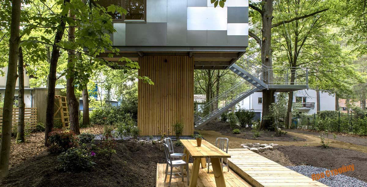 Как построить домик на дереве для детей своими руками?