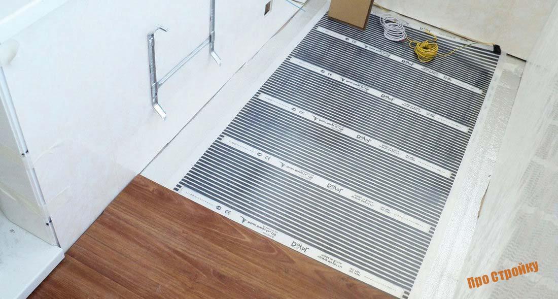 Как утеплить пол на балконе (лоджии)? Инструкция   обзор популярных решений для отопления